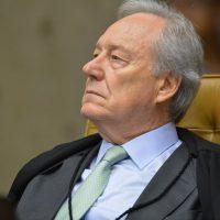 Ministro Ricardo Lewandowsk,i durante a segunda parte da sessão dehoje(23) parajulgamento sobre a validade da prisão emsegundainstância do Supremo Tribunal Federal (STF).